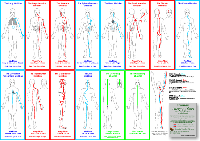 HOW TO CLEAR THE BODY MERIDIANS
